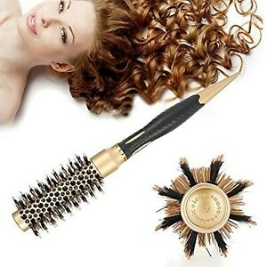 Anti-Static Round Comb - Portable Negative Ion, Professional Brush - Gold Hot...