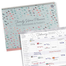 Boxclever Press Family Home Planner 2020 Wall Calendar. One of The Must-Have for