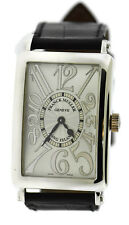 Franck Muller Long Island 18K White Gold Watch 1002 QZ