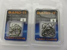 30 BARBLESS CARP CURVEPOINT HOOKS SIZE 6 FOR FEEDER METHOD AND FLOAT FISHING