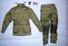 WW2 SCALA 1/6th DID degli Stati Uniti 101st AIRBORNE uniforme-RYAN
