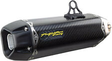 Two Brothers Tarmac Carbon Fiber Slip-on Exhaust Muffler Honda CBR250R 2011-2014