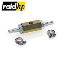raid hp T-Adapter für Benzindruckgeber/Kraftstoffdruck-Geber - 1/8'' 27-npt