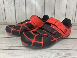 Pearl Izumi Select RD IV Cycling Road Racing Shoes Red/Black Mens Size 43 US 10
