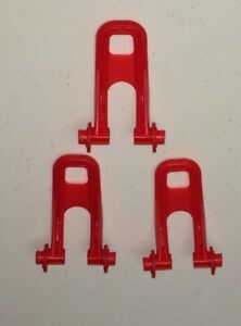 Evenflo Exersaucer Replacement Parts-Lot of 3 Red Stabilizer Feet
