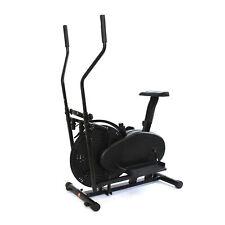 Crosstrainer Schwarz günstig kaufen TecTake Crosstrainer mit Trainingscomputer