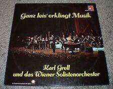Ganz Leis Erklingt Musik Karl Grell~1976 Austria Import Easy Listening Jazz