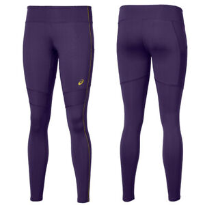 Asics Women's Running Tights 28 Inch Sports Tights - Purple - New