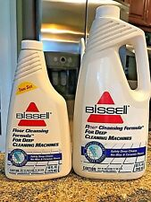 Lot Of 2 Bottles Of Bissell Floor Cleansing Formula For No Wax & Ceramic Floors