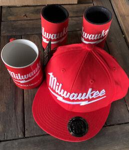 Milwaukee Tools Giftpack Cap, Stubbie Holders And Coffee Mug