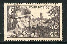 STAMP / TIMBRE FRANCE OBLITERE N° 451 POUR NOS SOLDATS