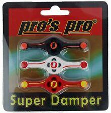 Pro's Pro Super Damper Vibration Dampener Tennis Racket Damper Damp - Free P&P