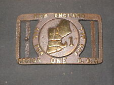 Region 1, 1955,  Max Silber Belt Buckle