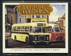 BYGONE BUSES - Collectors Card Set - Albion Guy Arab Bristol BMMO Albion Daimler