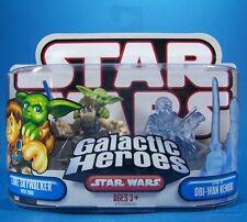 STAR WARS GALACTIC HEROES: LUKE SKYWALKER w/ YODA & SPIRIT of OBI-WAN KENOBI
