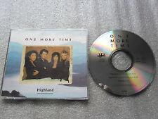 CD-HIGHLAND-ONE MORE TIME-VITALITY-GRÖNVALL/NORDQVIST-(CD SINGLE)-3TRACK-CD MAXI
