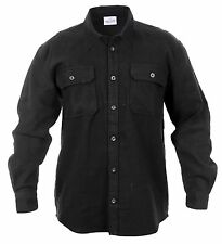 Rothco 4637xlrg Heavy Weight Buffalo Flannel Shirt Black X-large