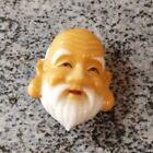 Original Vintage Japanese Toshikane Arita Button Fukurokuju God Of Wisdom