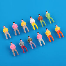 100x Scale 1:75 Model Railway Painted Train Street Figures People 00 Gauge