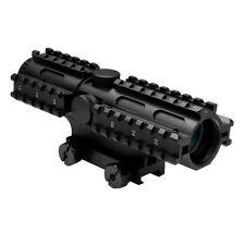 NcStar SC3RSM432B 4x32 Mil-Dot Tri-Rail Mount Sighting System Rifle Scope