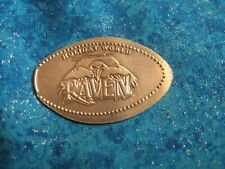 Holiday World Raven Copper Elongated Penny Pressed Smashed 14