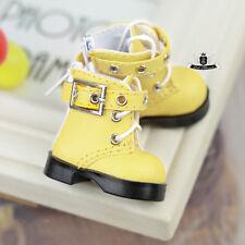 1/6 BJD Shoes Yosd Lolita Boots Dollfie DREAM AOD DZ DIM DOD LUTS Boots #Yellow