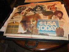 10 Most Famous 5 Year Olds , Usa Today , Newspaper Clipping / Poster , 9/15/87