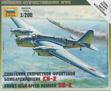 Zvezda Russian SB-2 High Speed Bomber 1/200 Flames of War
