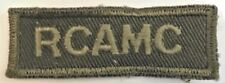Royal Canadian Army Medical Corps (RCAMC) Combat Flash #4943