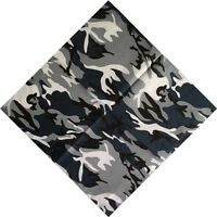 Camo Turban Hip Hop Cotton Square Scarf Hip hop bandana Cycling Scarves Headwrap