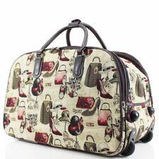 NEW FASHION TRAVEL BAG WHEELED HOLDALL TROLLEY CABIN WEEKEND BAG HAND LUGGAGE