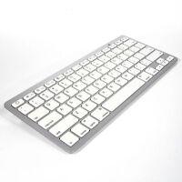 Bluetooth Wireless Keyboard Ultra Slim For Macs Windows Apple Mac/iPad/iPhone