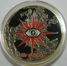 CIA NCS / SOG SPECIAL OPERATION GROUP AFGHANISTAN AD OCULOS CHALLENGE COIN