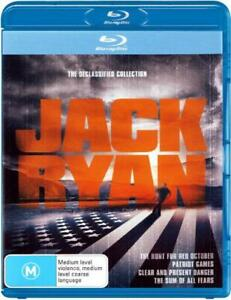 JACK RYAN: THE DECLASSIFIED COLLECTION (THE HUNT FOR RED OCTOBER / [NEW BLURAY]