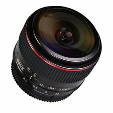 MEIKE MK-6.5mm F2.0 Fisheye Lens for Canon EF-M Mount Lens EOS M M2 M3 M5 Camera
