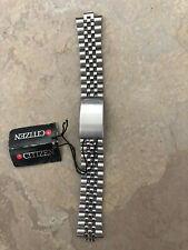 Citizen NOS Silver Stainless Steel Watch Bracelet Original Tags Made in China