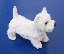 Miniature Dollhouse West Highland Dog 1:12 Scale New
