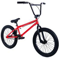 """Elite 20"""" BMX Stealth Bicycle Freestyle Bike Red NEW 2018"""