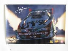 """Kenny Youngblood-Castrol GTX Mustang Funny Car-John Force-Art Poster  20""""x 30"""""""