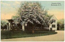 Rochester NY Country Club postcard - c1919 - pm Waterloo to Seneca Falls