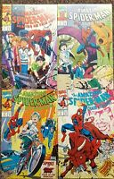 The Amazing Spider-Man 1-4 Marvel 1993 Anti Drug One-Shots Set Run Lot VF