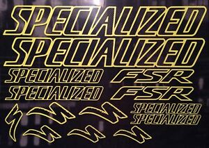 Specialized FSR Outlined Graphics Set. (118)