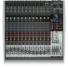 Behringer Xenyx X2442USB 24-Input USB Audio Interface Analog Mixer w/ Effects