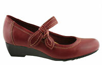 PLANET SHOES BEAU WOMENS/LADIES LEATHER COMFORT SHOES/WEDGES/WORK/MARY JANE