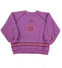 Vintage Youth Size 7 Sweatshirt Union Bay Purple Poly/Cotton