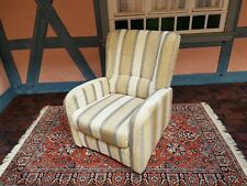 1A Fernsehsessel elektrisch Relaxsessel Sessel mit Stoffbezug wie neu