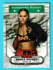 2019 Topps WWE Raw Hometown Heroes #hh33 Ronda Rousey