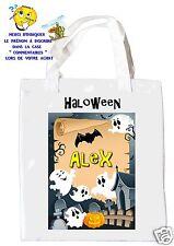 sac halloween shopping sac à bonbons sac à cadeaux  réf 11
