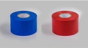 MAR Red Blue PVC Tape MMA bandage Boxing Wrap BJJ Finger Tape 50MM x 33m Long