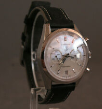 TAG Heuer Carrera CV2115 Automatic Watch Leather Band (20869)